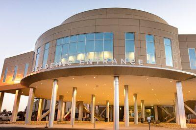 UConn Health's Academic Entrance