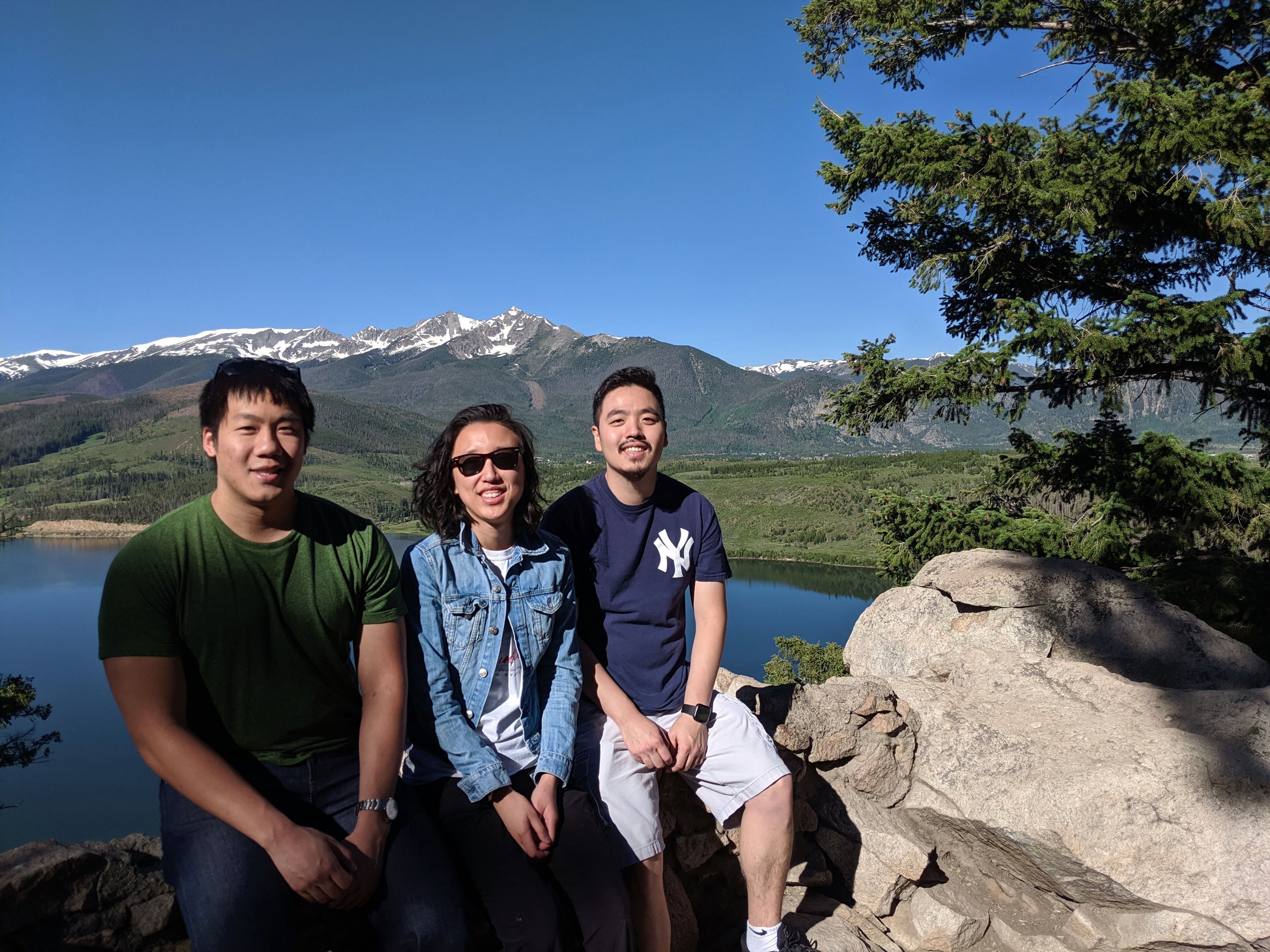 MD/PhD Students enjoying the CO outdoors